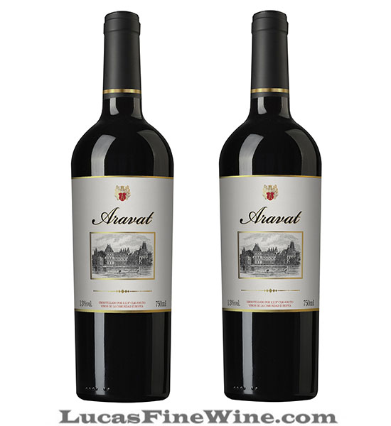 Rượu vang Tây Ban Nha Aravat