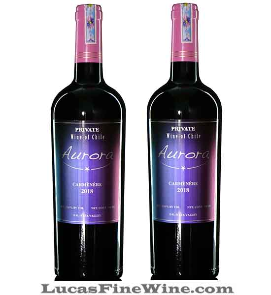 Rượu vang Chile Aurora Private Carmenere