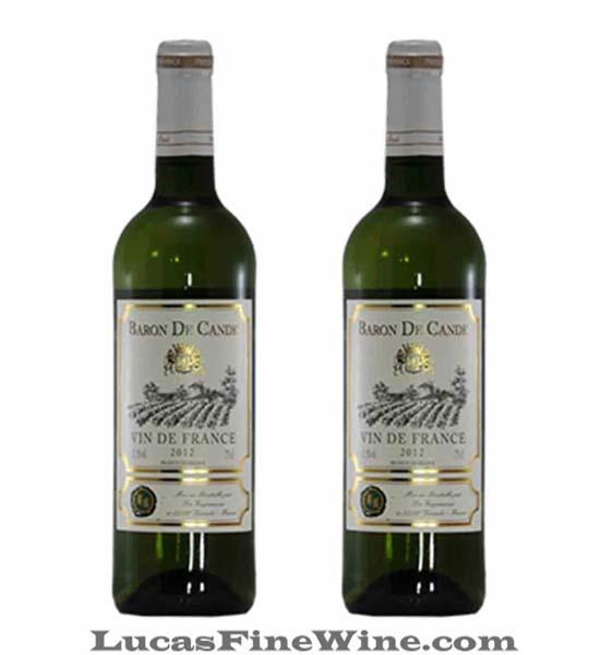 Rượu vang trắng Pháp Baron De Cande