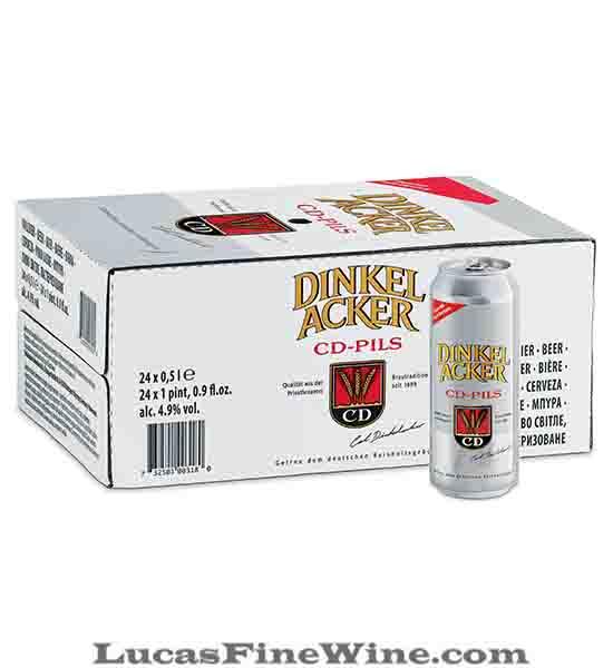 BIA NHẬP - Bia Đức Dinkelacker CD PILS lon 500ml - 1