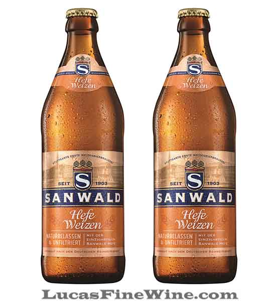 BIA NHẬP - Bia Đức Sanwald Hefe Weizen 500ml - 2