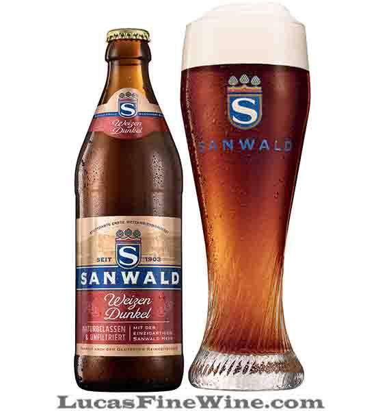 BIA NHẬP - Bia Đức Sanwald Weizen Dunkel 500ml - 1