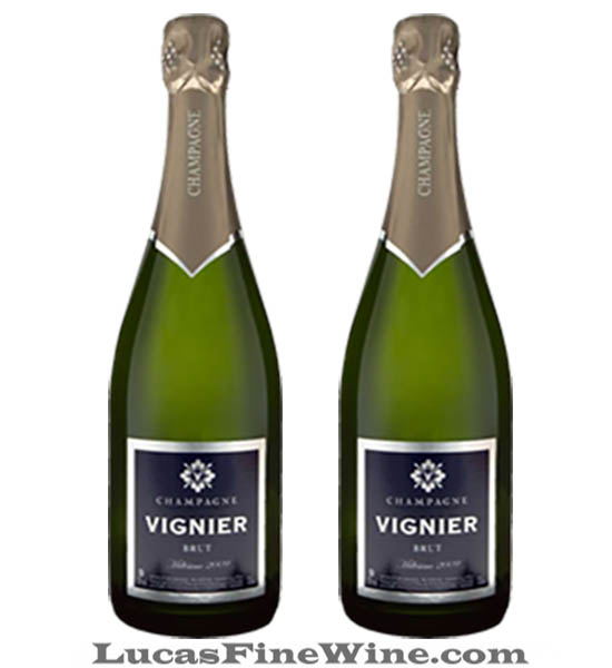 Rượu vang - Champagne Vignier Millesime - Rượu vang Pháp - 2