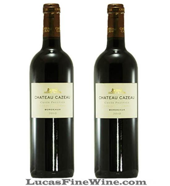 Chateau Cazeau Cuvee Prestige - Rượu vang Pháp