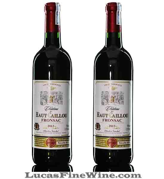 Rượu vang - Chateau Du Haut Caillou 2013 - 1
