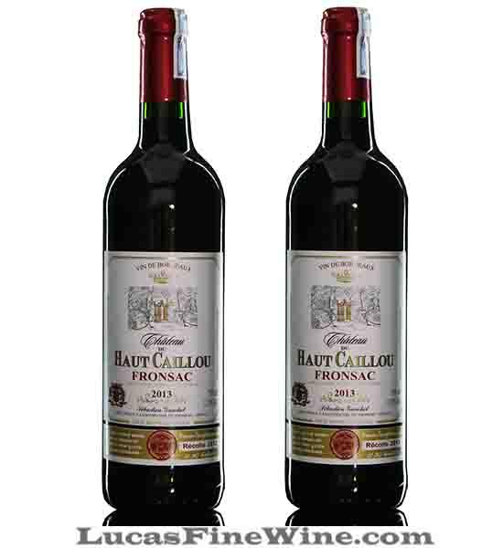 Rượu vang - Chateau Du Haut Caillou 2013 - 2