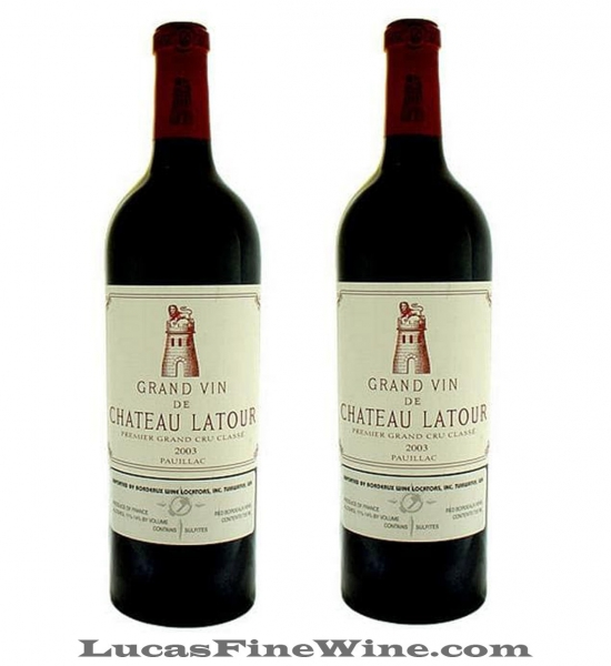 Rượu vang Pháp thượng hạng Château Latour 2003