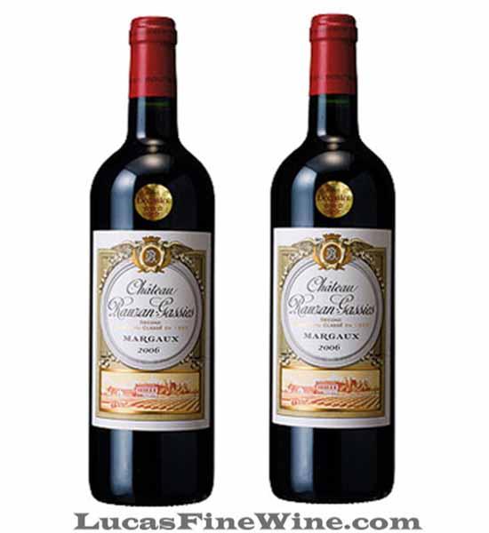 Chateau Rauzan Gassies - Rượu vang Pháp cao cấp