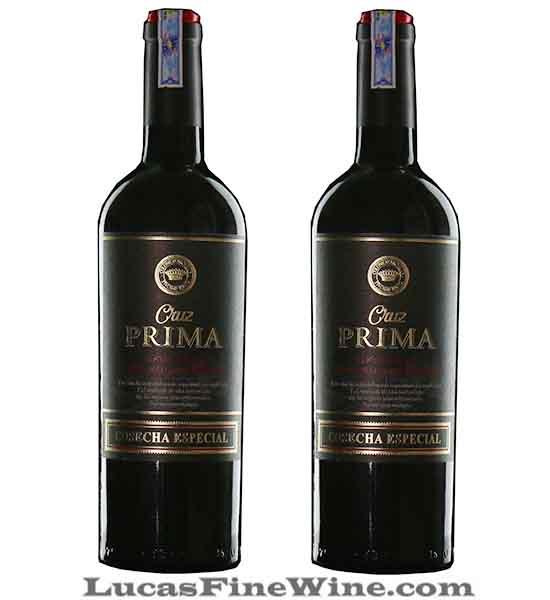 Rượu vang Tây Ban Nha Cruz Prima