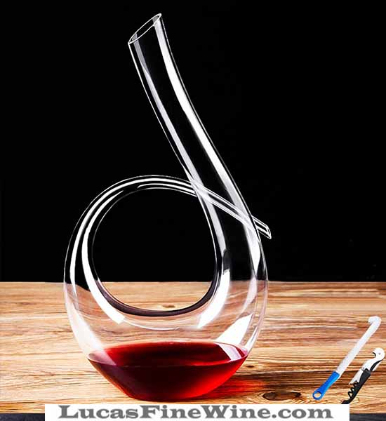 Decanter LUCANA Swan-002