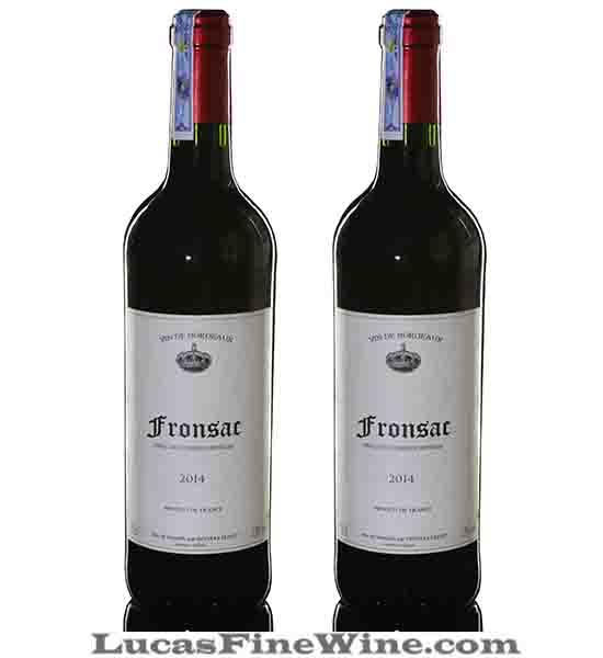 Rượu vang - Fronsac Chateau Du Haut Caillou 2014 - 1