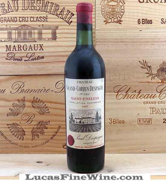 Rượu vang - Grand Corbin Despagne Grand Cru Classe Saint Emilion - 1