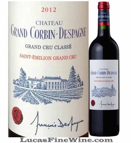 Rượu vang - Grand Corbin Despagne Grand Cru Classe Saint Emilion - 2
