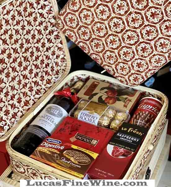 Rượu vang - HỘP QUÀ TẾT 2021 CỦA LUCAS - 1
