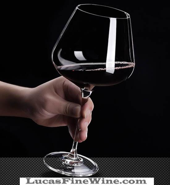 Ly pha lê rượu vang Lucana-001