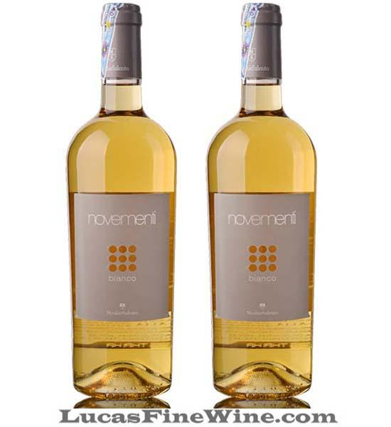 Novementi Bianco - Rượu vang trắng Ý