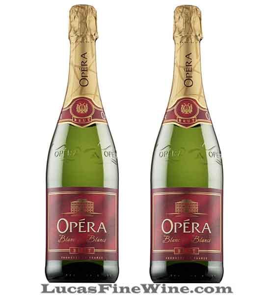 Rượu vang - Opera Sparkling Demisec 750ml - Sparkling Pháp - 2
