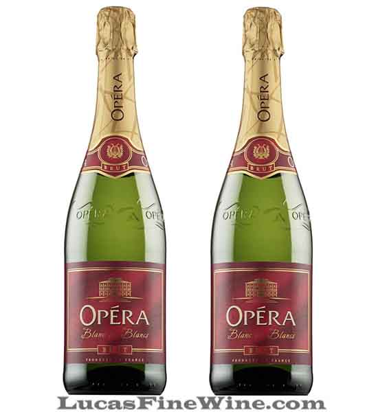 Rượu vang - Opera Sparkling Demisec 750ml - Sparkling Pháp