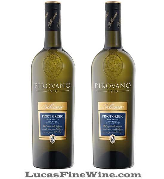 Pirovano Pinot Grigio - Rượu vang trắng Ý