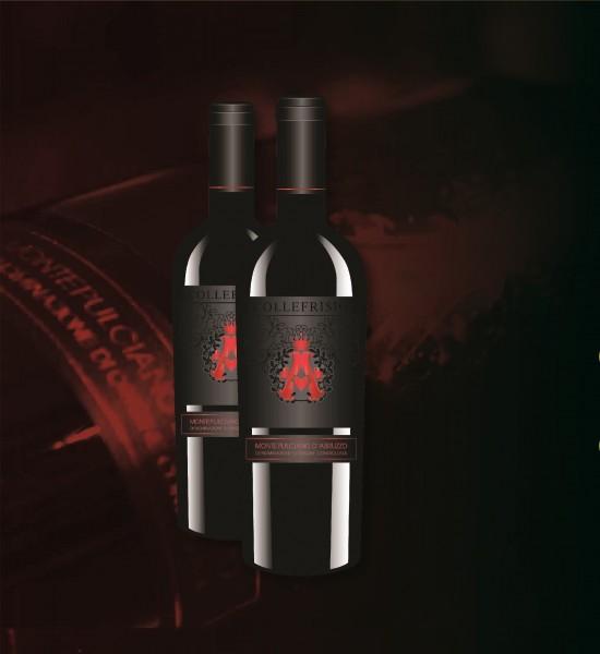 Rượu vang - Rượu vang A Đỏ Collefrisio A - 1