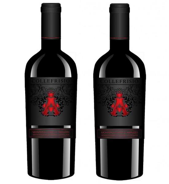 Rượu vang - Rượu vang A Đỏ Collefrisio A - 2