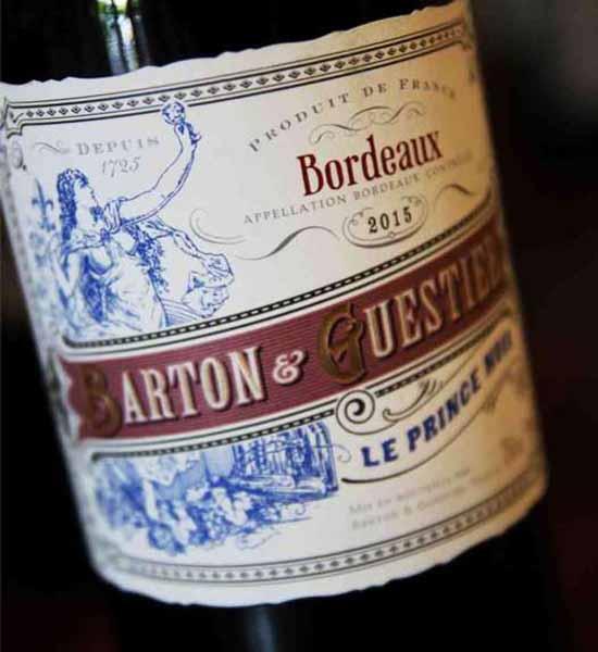 Rượu vang - Rượu vang Bordeaux Le Prince Noir - 1