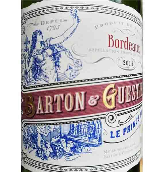 Rượu vang - Rượu vang Bordeaux Le Prince Noir - 2