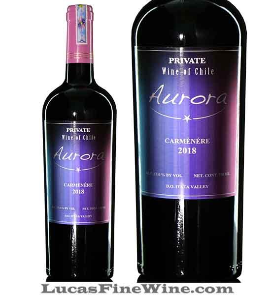 Rượu vang - Rượu vang Chile Aurora Private Carmenere - 1