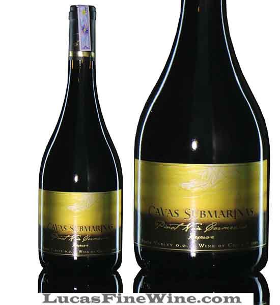 Rượu vang - Rượu vang Chile Cavas Submarinas Pinot Noir Carmenere reserve - 1