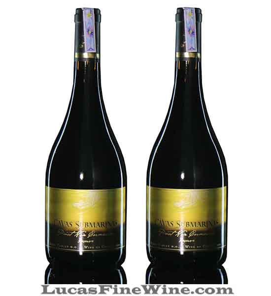 Rượu vang - Rượu vang Chile Cavas Submarinas Pinot Noir Carmenere reserve - 2