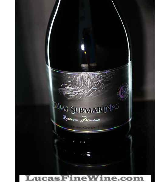 Rượu vang - Rượu vang Chile Cavas Submarinas Reserva Maria Siliver - 2