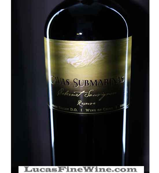 Rượu vang - Rượu vang Chile Cavas Submarinas Reserve cabernet Sauvignon - 2
