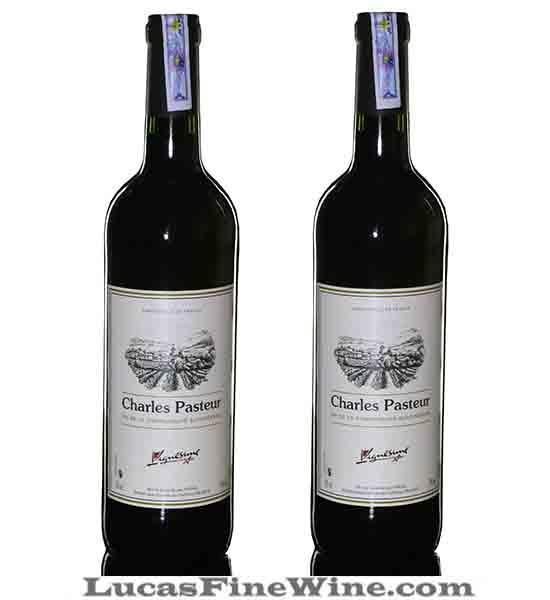 Rượu vang - Rượu vang Pháp - Charles Pasteur Bordeaux - 2