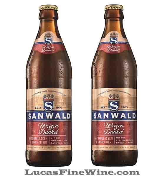 Bia Đức Sanwald Weizen Dunkel 500ml