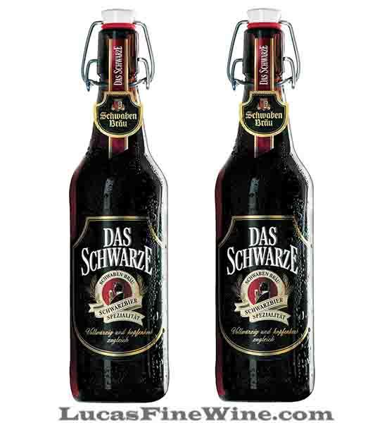 Bia Đức Schwaben Brau Das Schwarze 500ml