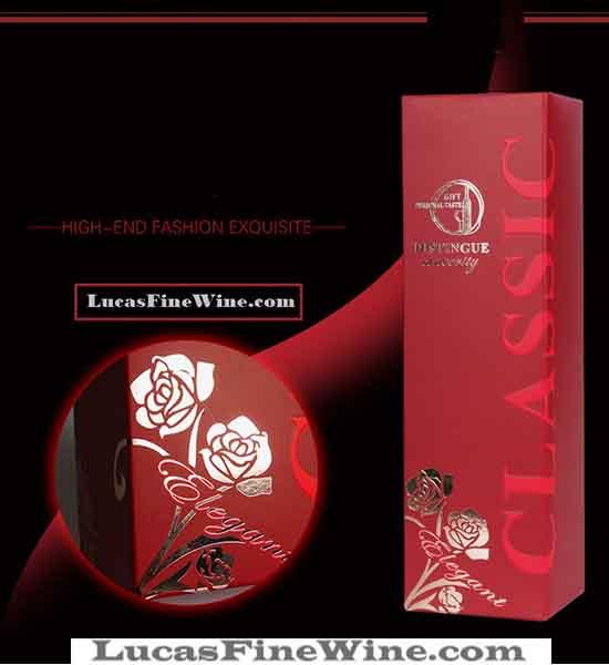 SET hộp rượu bằng giấy 01 chai Piccini Patriale