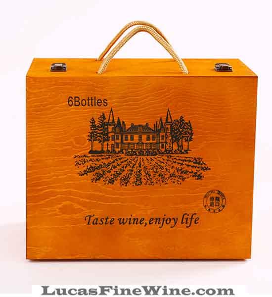 Rượu vang - Thùng 06 chai vang Ý Patriale - 2