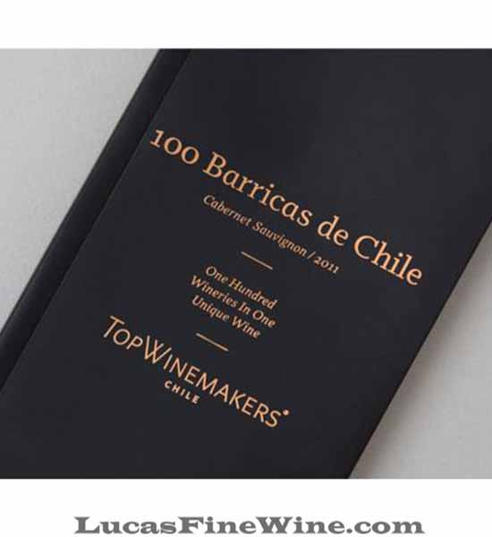 Rượu vang - Top Winemakers 100 Barricas - Rượu vang Chile - 2