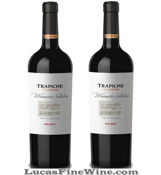 Rượu vang Argentina - Trapiche Melodias Malbac