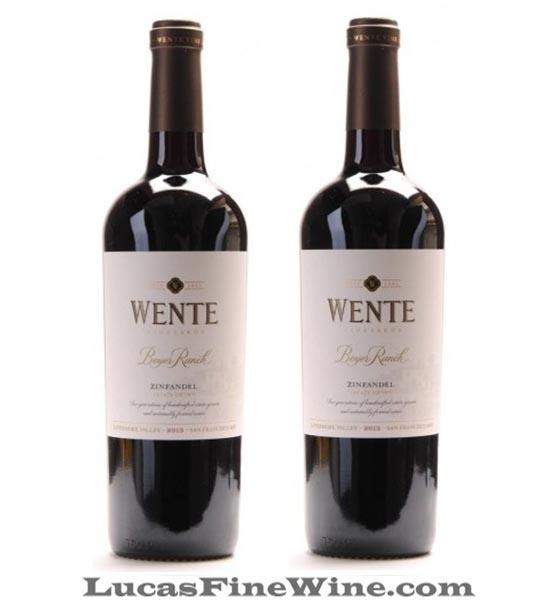WENTE Beyer Ranch ZINFANDEL - Rượu vang Mỹ