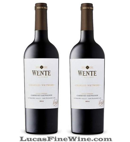 WENTE Charles Wetmore CABERNET SAUVIGNON